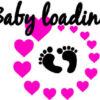 Smešna-majica-za-nosečnice - Baby-loading - Nogice