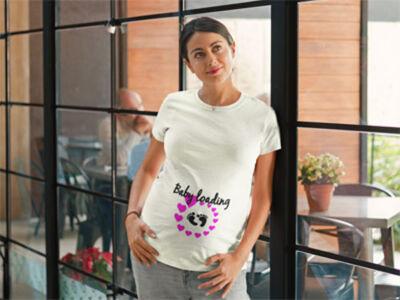 majica-za-nosecnice-baby-loading-nogice