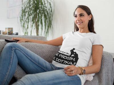 nosečniška zabavna majica