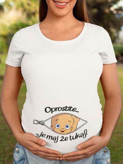 smesna majica za nosecnice oprostite