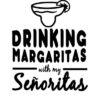 majica za dekliščino drinking margaritas