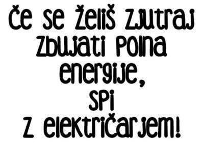 zabavna majica za električarje