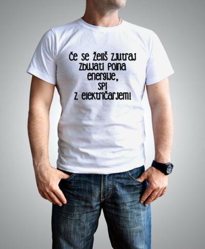 smešna majica za električarje
