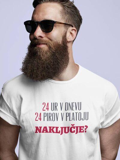 zabavna pivska majica 24 pirov