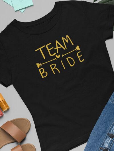 majice za dekliscino bride team bride