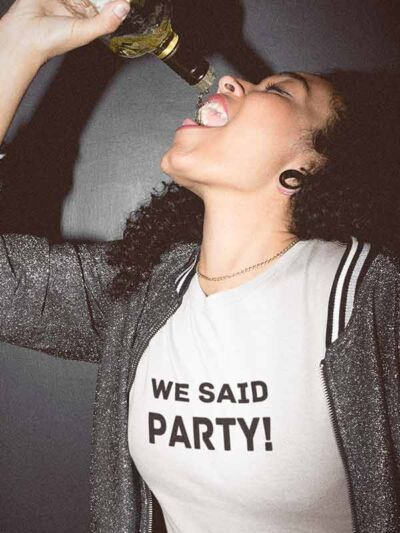 we said party
