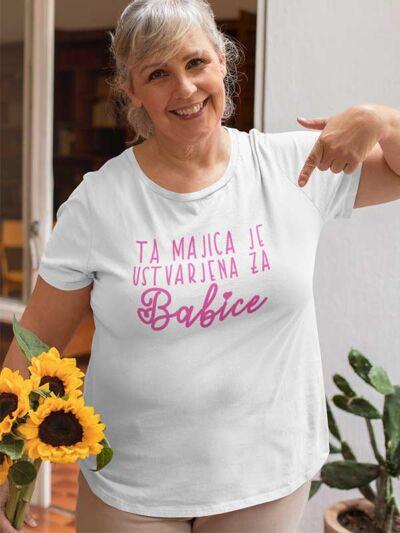 ta majica je ustvarjena za babice