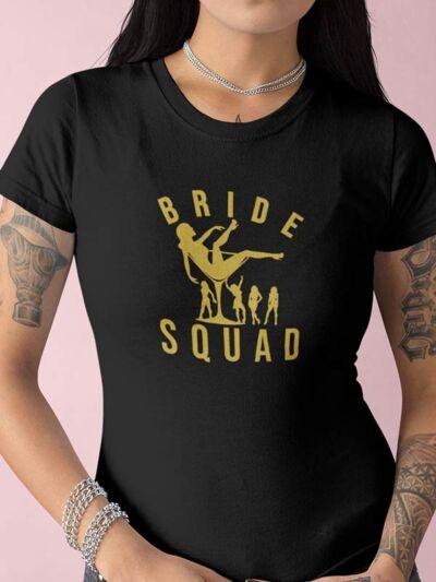 majica dekliscina bride squad