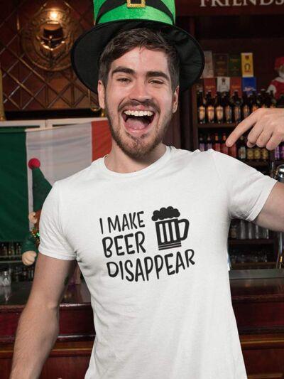 pivska majica I make beer disappear