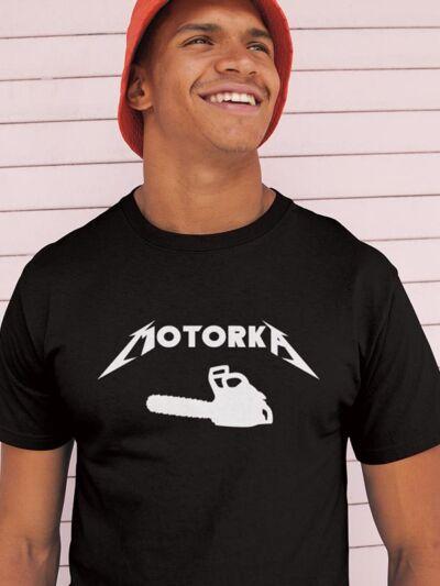 majica za gozdarja motorka