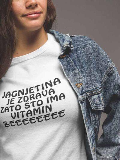 smesna majica jagnjetina je zdrava