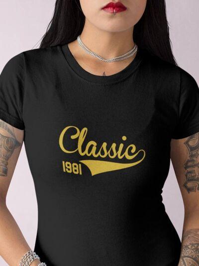majica za rojstni dan classic letnica po želji
