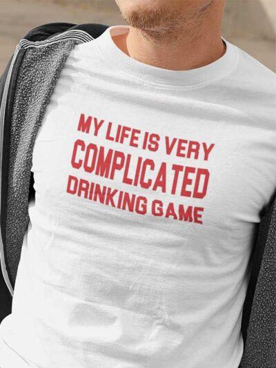 pivska majica complicated drinking game