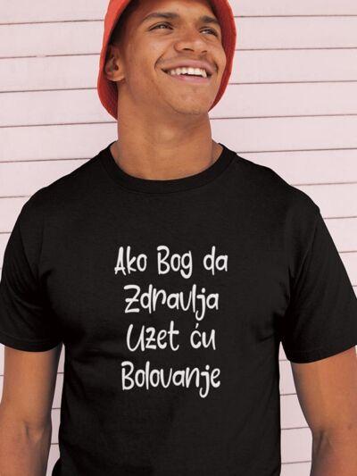 smesna majica ako bog da zdravlja