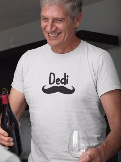 smesna majica za dedija brki