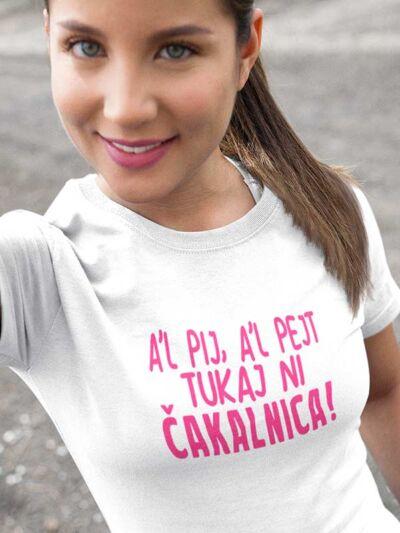 majica za natakarico čakalnica