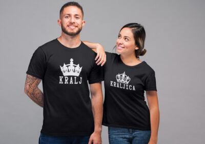 Majica-za-pare-Kralj-kraljica
