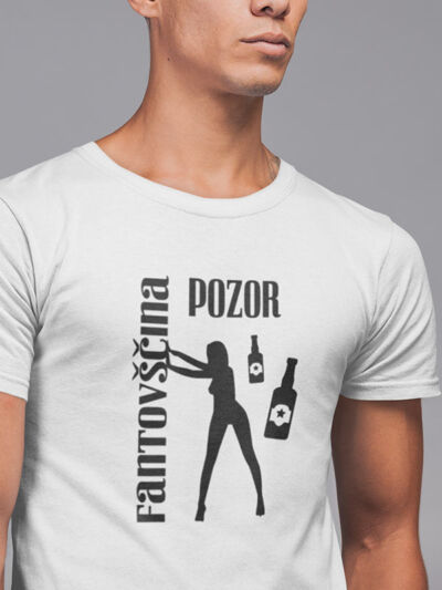 majica pozor fantovščina stiptizeta