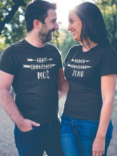 majica-za-pare-končno-poročena