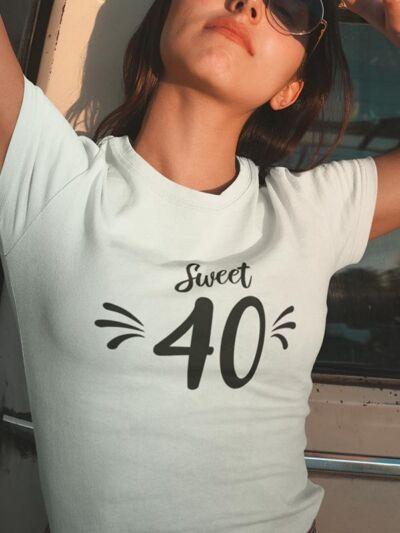 majica za 40 let sweet