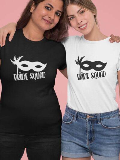 majica bride squad maska za dekliščino