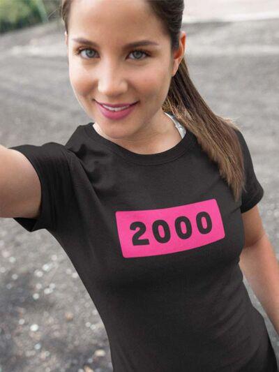 2000 majica za 20 rojstni dan