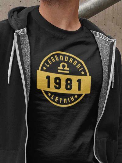 majica rojstni dan 30let legendarni letnik tehtnica