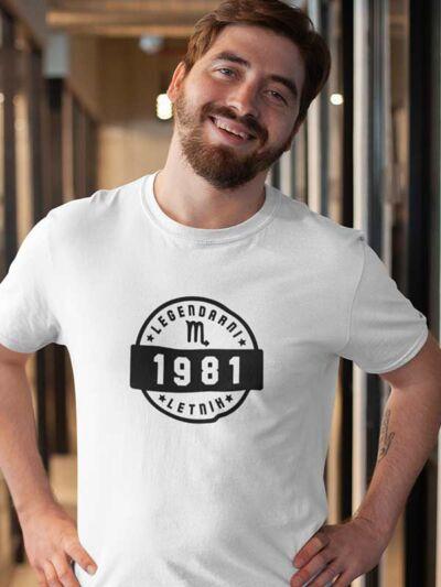 majica za rojstni dan legendarni letnik škorpijon 30 let