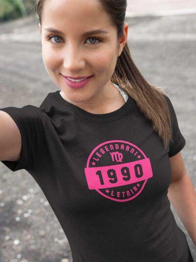 zenska majica za rojstni dan legendarni letnik devica za 30 let