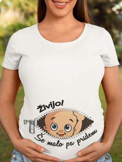 nosecniska majica zivijo se malo pa pridem