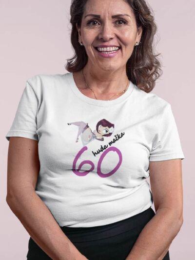 huda mačka majica za 60 let
