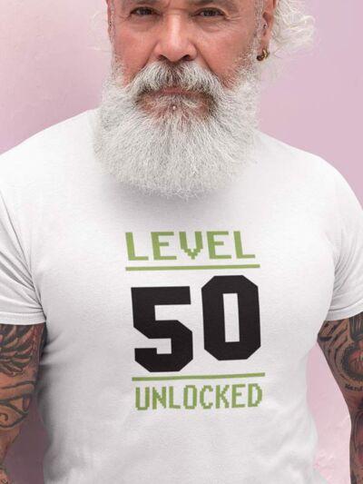 majica level 50 unlocked za rojstni dan