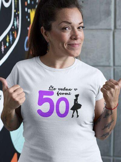 majica še vedno v formi 50 let