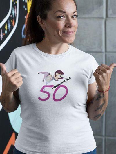 majica za 50 let huda mačka
