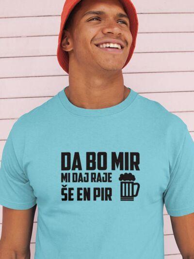 pivska majica da bo mir